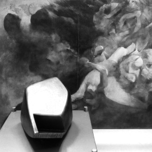 Victim (1988) by Vivienne Roche and Samuel Forde's Fall of the Rebel Angels (1828).